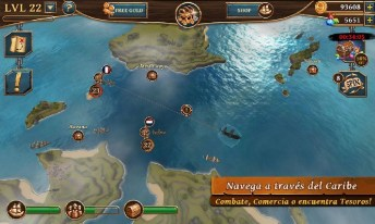 Ships of Battle Age of Pirates APK MOD imagen 3
