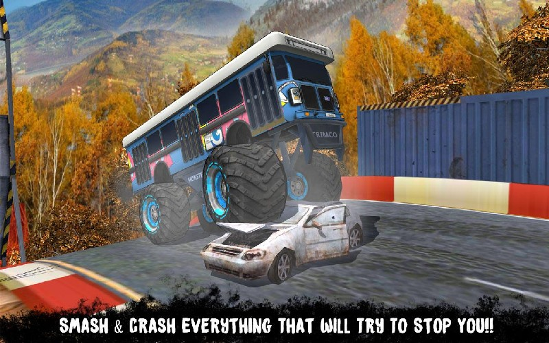 AEN City Bus Stunt Arena 17 APK MOD imagen 1