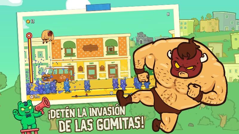 Burrito Bison Launcha Libre APK MOD imagen 2