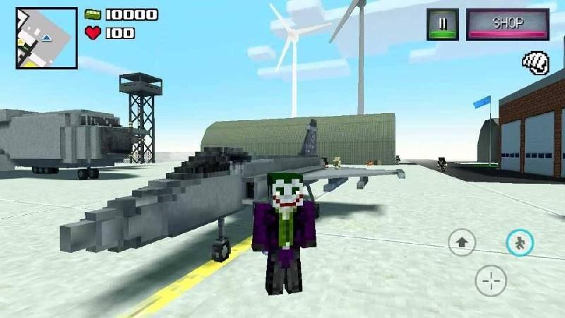 Diverse Block Survival Game APK MOD imagen 2