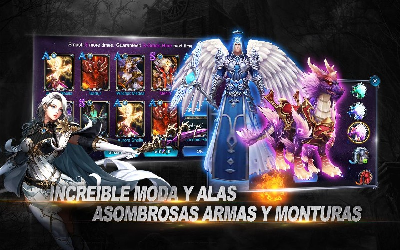 Goddess Primal Chaos APK MOD imagen 4