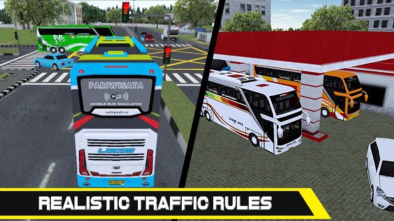 Mobile Bus Simulator APK MOD imagen 3