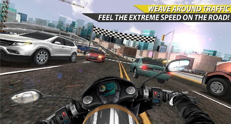 Moto Rider In Traffic APK MOD imagen 2