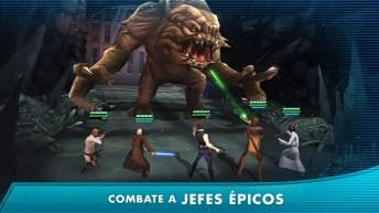 Star Wars Galaxy of Heroes APK MOD imagen 4