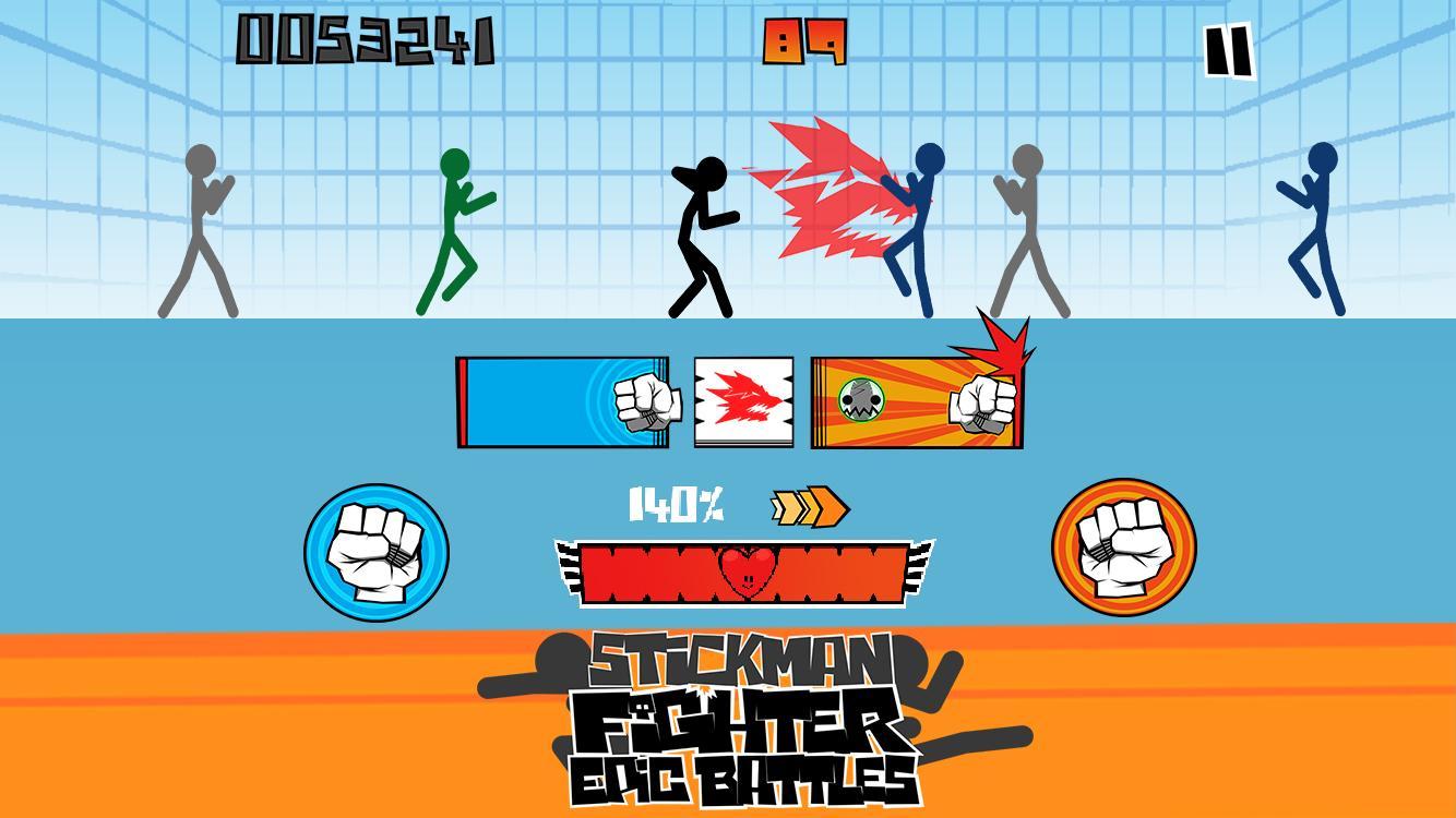 Stickman fighter Epic battle APK MOD imagen 4