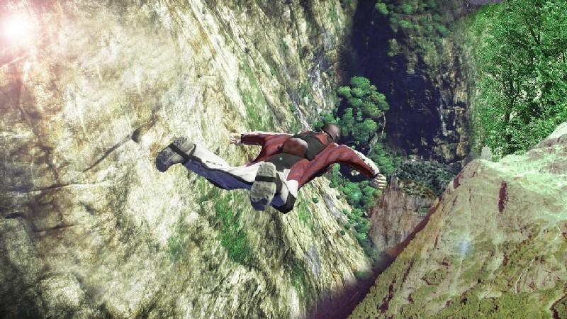 Wingsuit Simulator 3D APK MOD imagen 3