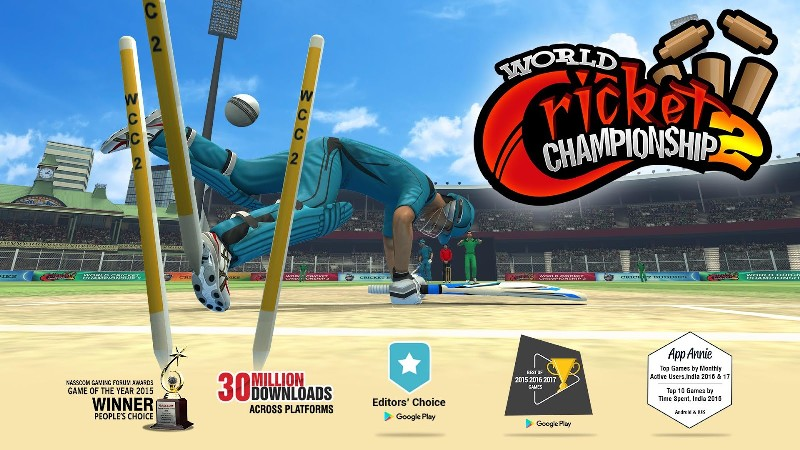 World Cricket Championship 2 APK MOD imagen 1
