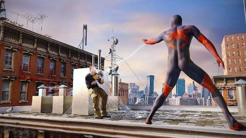 Amazing Strange Rope Police - Vice Spider Vegas APK MOD imagen 2