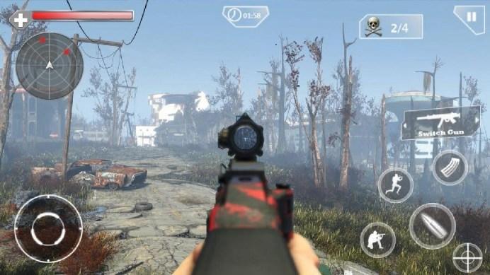 Counter Terrorist Sniper Shoot APK MOD imagen 5