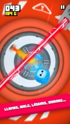 Fluffy Fall Fly Fast to Dodge the Danger! APK MOD imagen 1
