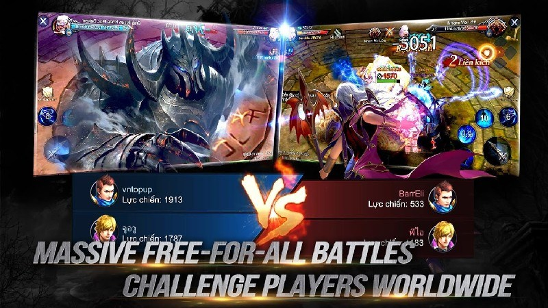 Goddess Primal Chaos - SEA Free 3D Action MMORPG APK MOD imagen 3