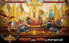 Legend Warriors Epic Heroes Battle APK MOD imagen 3