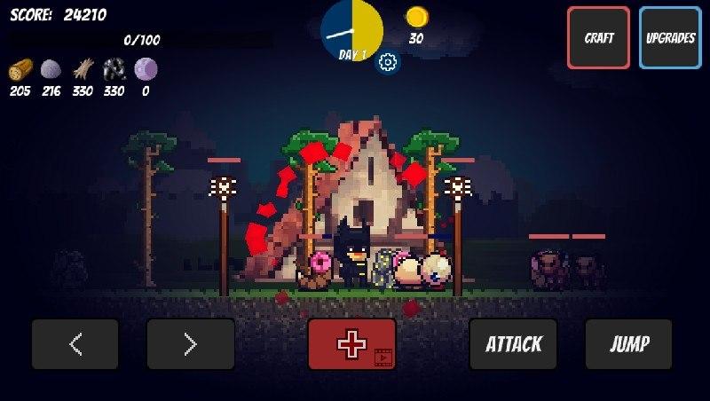 Pixel Survival Game APK MOD imagen 4