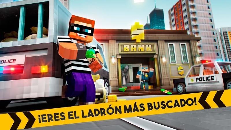 Robber Race Escape APK MOD imagen 1