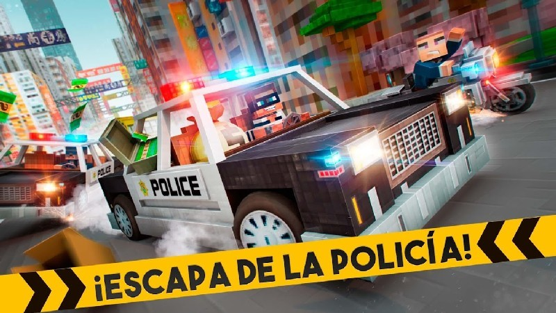 Robber Race Escape APK MOD imagen 3