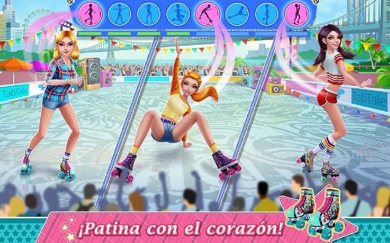 Roller Skating Girls - Dance on Wheels APK MOD imagen 2