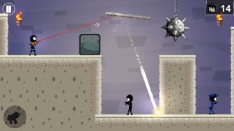 Stickman Shooter Elite Strikeforce APK MOD imagen 1