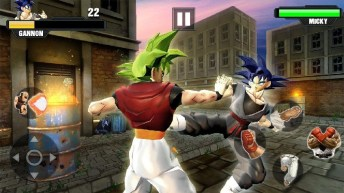 Super Goku Fighting Legend Street Revenge Fight APK MOD imagen 4