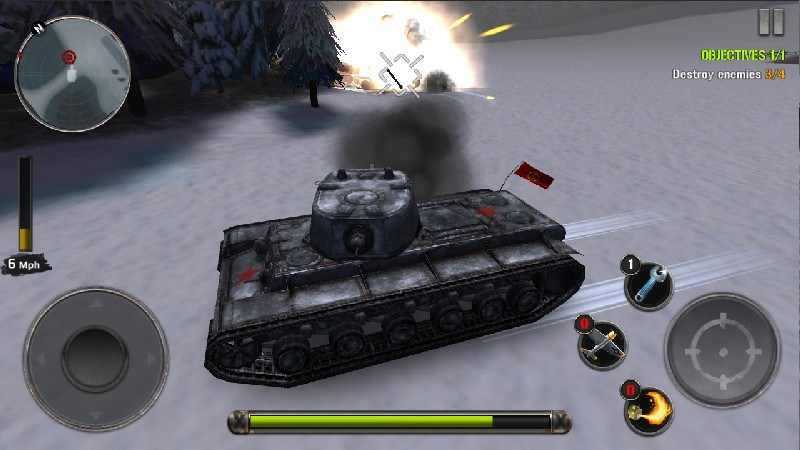 Tanks of Battle World War 2 APK MOD imagen 2