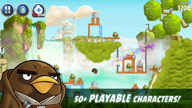 Angry Birds Star Wars II Free APK MOD imagen 4