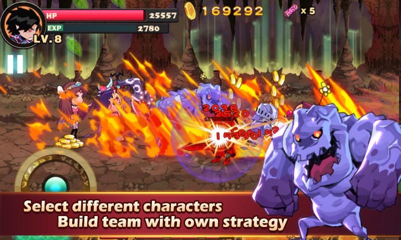 Brave Fighter Demon Revenge APK MOD imagen 5