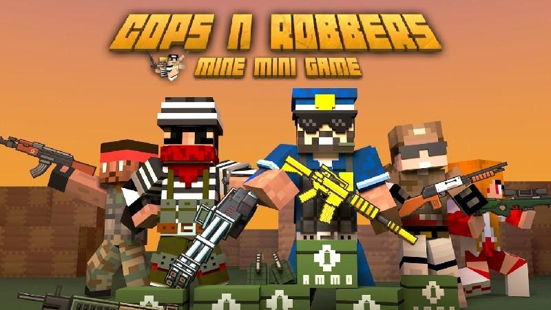 Cops N Robbers - FPS Mini Game APK MOD imagen 1