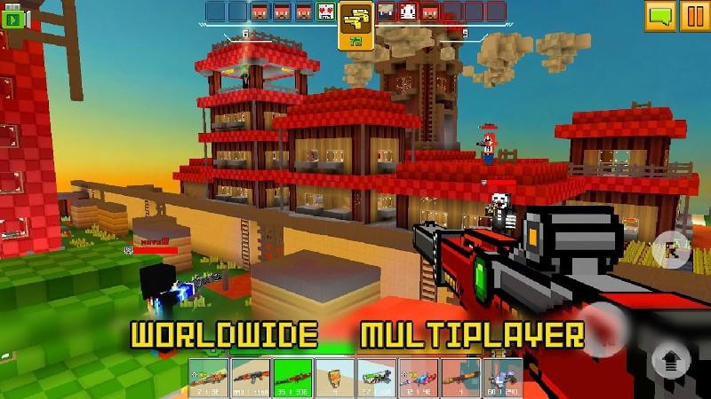 Cops N Robbers - FPS Mini Game APK MOD imagen 4