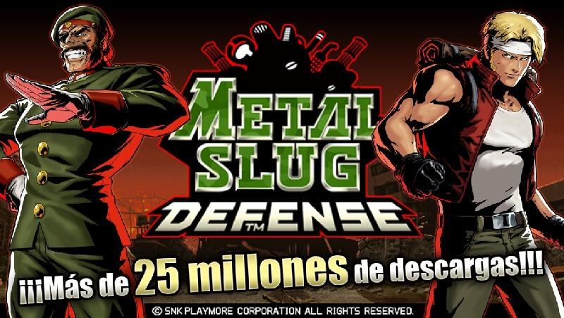 METAL SLUG DEFENSE APK MOD imagen 1