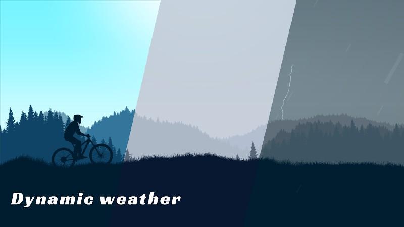 Mountain Bike Xtreme APK MOD imagen 2