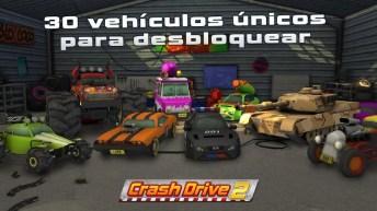 Crash Drive 2 APK MOD imagen 1