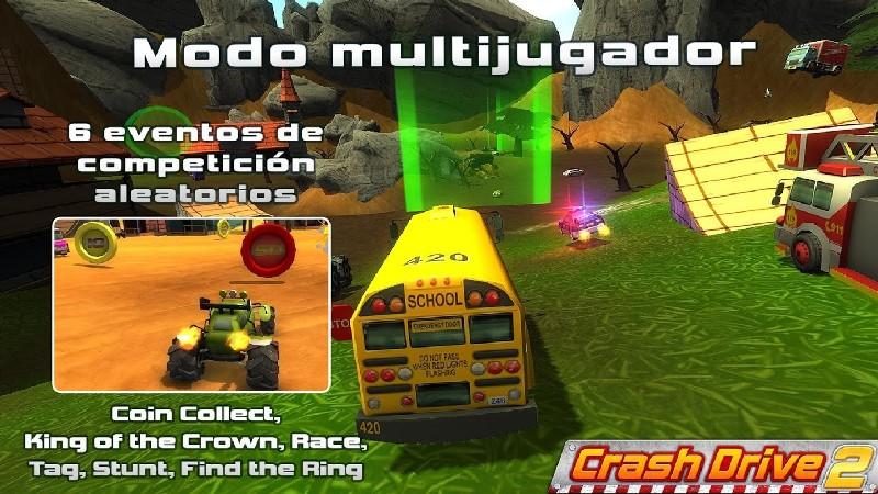 Crash Drive 2 APK MOD imagen 3