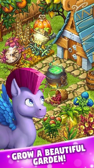 Fairy Farm - Games for Girls APK MOD imagen 2