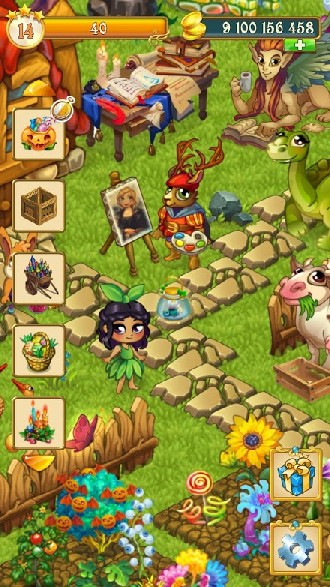 Fairy Farm - Games for Girls APK MOD imagen 5