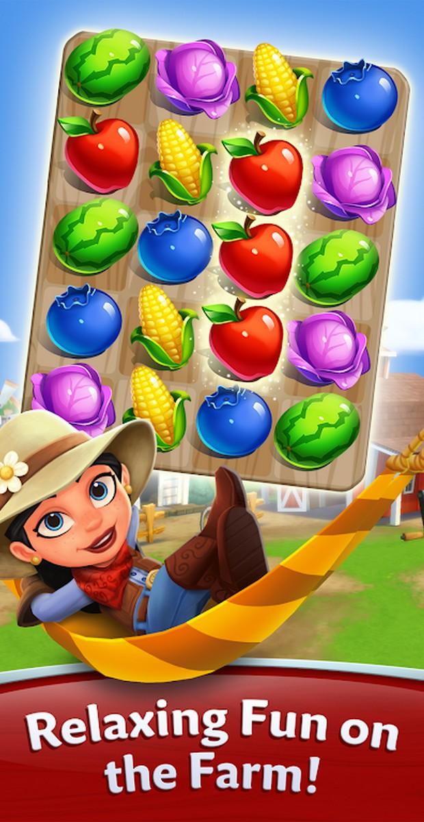 FarmVille Harvest Swap APK MOD imagen 1