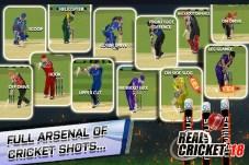Real Cricket 18 APK MOD imagen 3