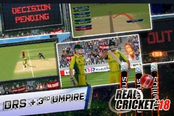 Real Cricket 18 APK MOD imagen 5