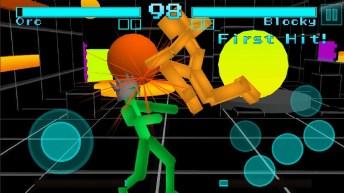 Stickman Fighting Neon Warriors APK MOD imagen 3