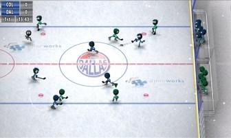 Stickman Ice Hockey APK MOD imagen 2