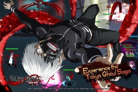 Tokyo Ghoul Dark War APK MOD imagen 1