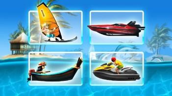 Tropical Island Boat Racing APK MOD imagen 1