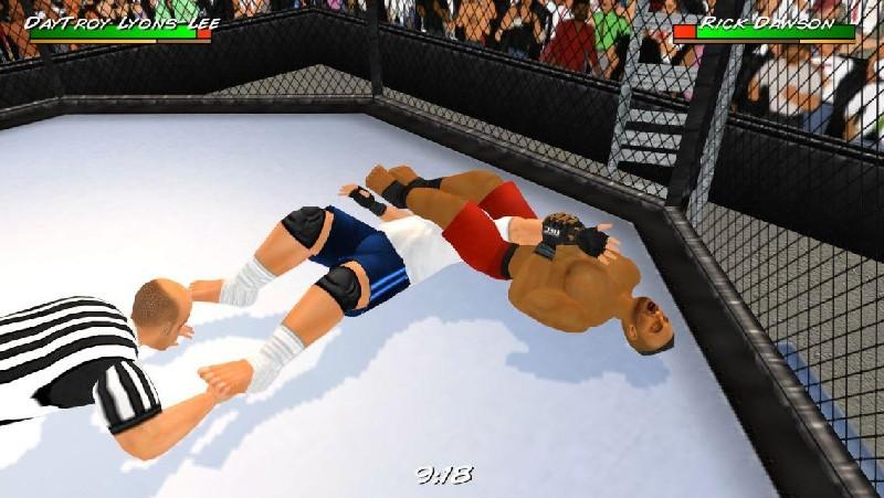 Wrestling Revolution 3D APK MOD imagen 3