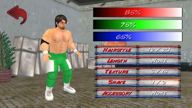 Wrestling Revolution 3D APK MOD imagen 4