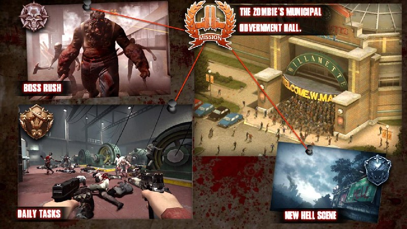 Zombie Sniper Evil Hunter APK MOD imagen 3