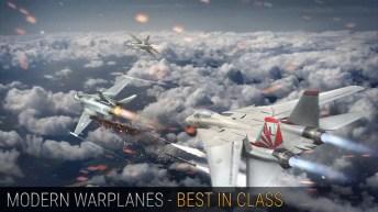 Modern Warplanes APK MOD imagen 1
