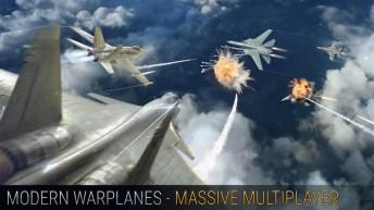 Modern Warplanes APK MOD imagen 2