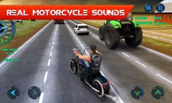 Moto Traffic Race APK MOD imagen 2