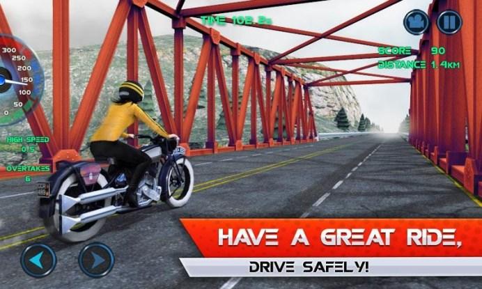 Moto Traffic Race APK MOD imagen 5