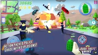 Dude Theft Wars Open World Sandbox Simulato APK MOD imagen 1
