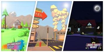 Dude Theft Wars Open World Sandbox Simulato APK MOD imagen 4