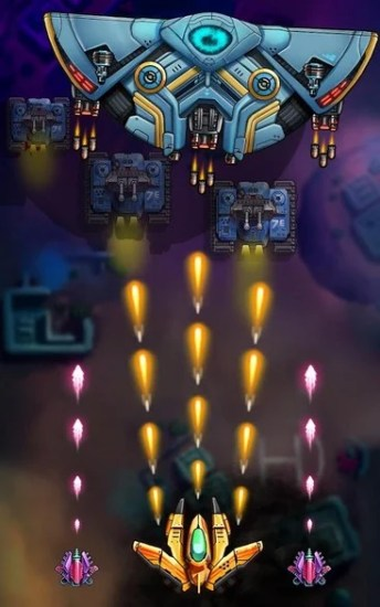 Space Squad Galaxy Attack of Strike Force APK MOD imagen 5